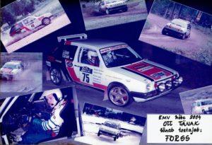 Aastal 2004 oli Ott Tänak võistlemas VW Golf II roolis